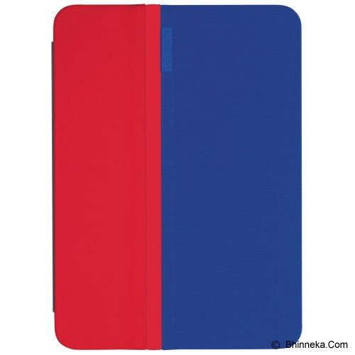 LOGITECH AnyAngle Protective Case for Apple iPad Air 2 [939-001142] - Blue Red - Casing Tablet / Case